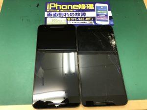 Nexus6P 液晶画面交換修理