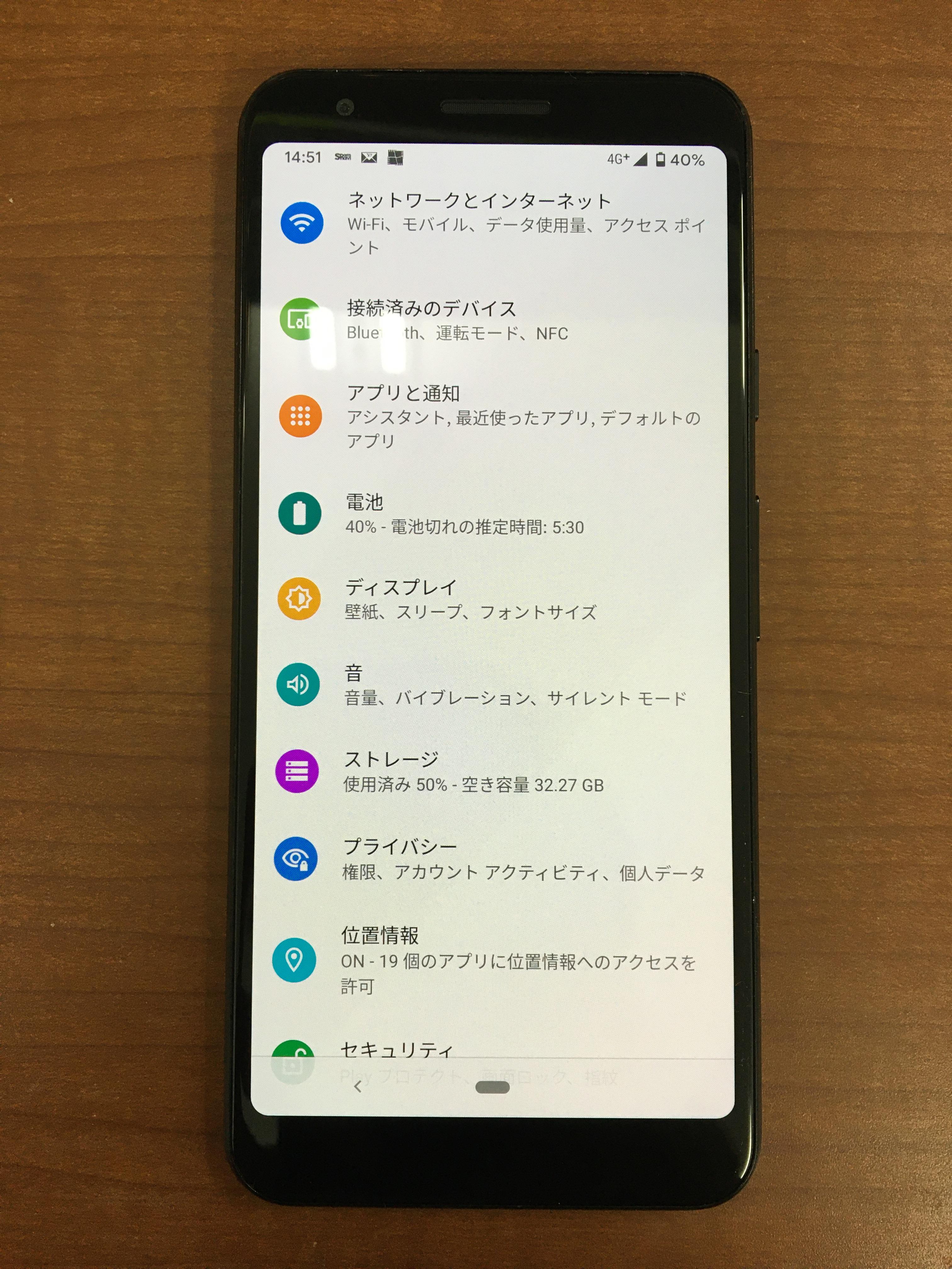 角からスマホを落としただけなのに 画面が全く映らなくなってしまったpixel 3aの画面交換修理 スマホスピタル熊本店が即日対応で修理させていただきました Xperia Galaxy Zenfone Huawei Nexus修理のアンドロイドホスピタル