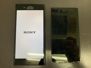 XperiaXZ1(SO-01K) 液晶割れを即日修理いたしました!